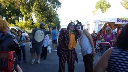 I Joker e dietro Totoro