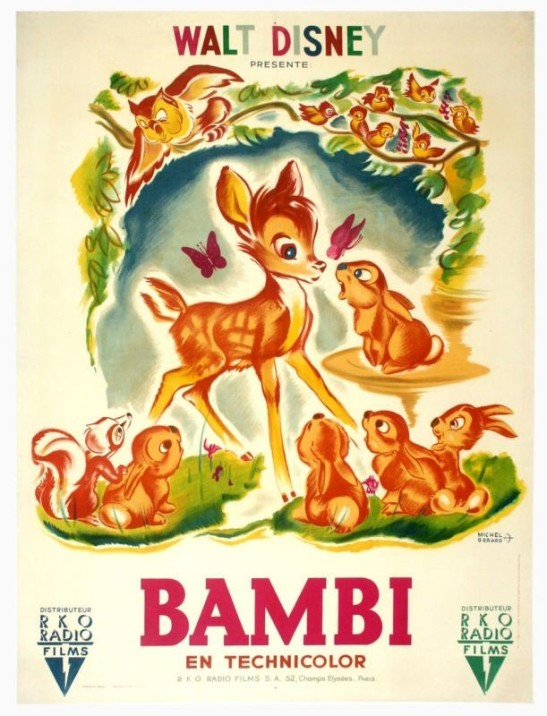Bambi-1942-poster-film-Disney