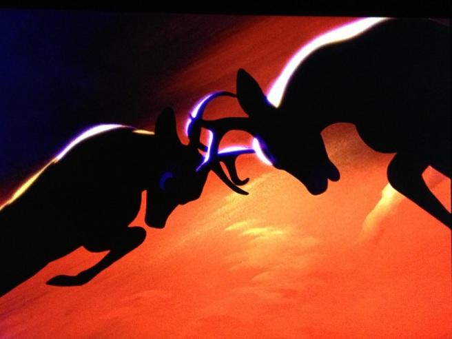 bambi- fight