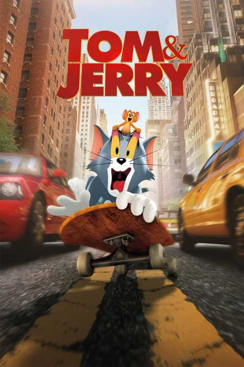Tom & Jerry 2021 poster